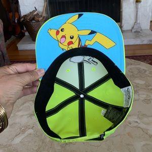 NEW! Pokémon Pikachu Adjustable Ball Cap